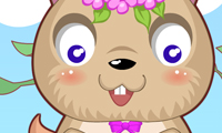 Lindo Hamster Dress Up