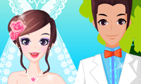 Habillage de la jeune mariée