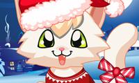 Un chaton de Noël