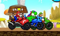 La course folle de Mario