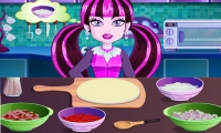 Monster High Halloween Pizza