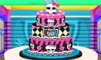 Pastel de bodas de Monster High
