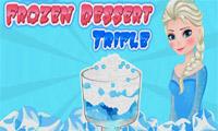 Elsa z Krainy Lodu: Słodki deser