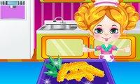 Kiki Fish Sticks Cookin