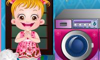 Bayi Hazel: Waktunya Cuci Baju