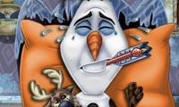 Olaf z Krainy Lodu u lekarza