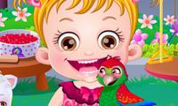 Baby Hazel: Der neue Papagei