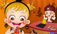 Mała Hania: Dekoracje na Halloween