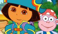 Dora busca tesoros piratas