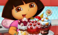 Los ricos cupcakes de Dora