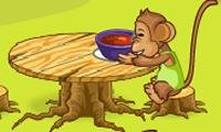 La cena delle scimmiette