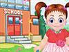 Emma First Day of School