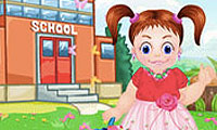 Emma First Day of School