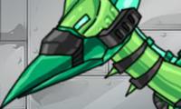 Dino Robot - Ptera Green
