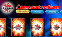 Bakugan Card Concentration
