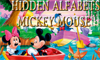 Micky Mouse Hidden alphabets