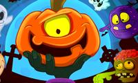 Il salto della zucca di Halloween