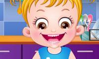 Bébé Hazel : Cours de cuisine