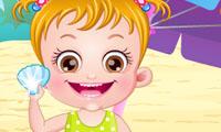 Baby Hazel va a la playa