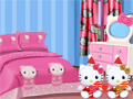 Kamar tidur Hello Kitty