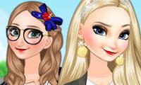Anna et Elsa : La vie à la fac