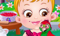 Si Kecil Hazel: Memelihara Burung Beo