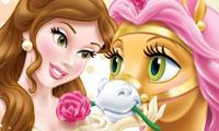 Belle dan petit hewan di kerajaan