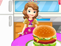 Sofia the First Memasak Hamburger