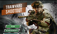 Trainyard Shootout: Sniper Game