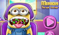 Minion col mal di gola