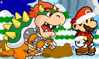 La carrera invernal de Mario