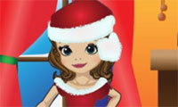 Sofia Chrismas Dress Up