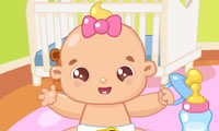 La bebé holgazana