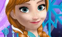 Frozen Anna's Make Up