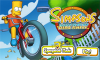 Fietsrace met de Simpsons