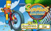 Los Simpson en bicicletas