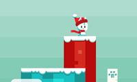 Mondo natalizio di palle di neve