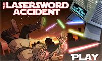 The Lasersword Accident