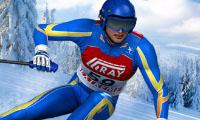 Corsa sugli sci
