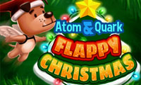 Dr. Atom & Quark: Flappy Christmas