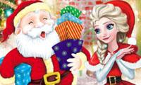 Elsa make christimas gift