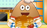 Pannenkoeken bakken met Pou