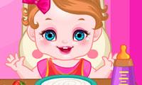 Hungrige, kleine Prinzessin