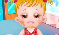 Baby Hazel: Augenprobleme