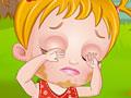 Baby Hazel merawat mata