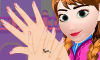 Frozen Manikur untuk Anna