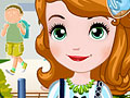 Putri Sofia Kembali sekolah