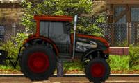 Desafío en tractor cuatro por cuatro