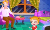 Bébé Hazel : Fête des pères