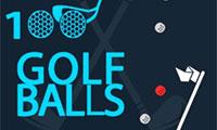 100 golfballetjes